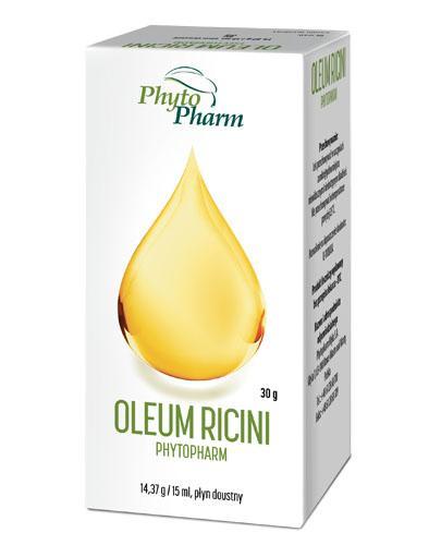 OLEUM RICINI Olej rycynowy - 30 g - Apteka internetowa Melissa