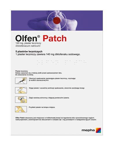 OLFEN PATCH Plastry lecznicze - 5 szt.