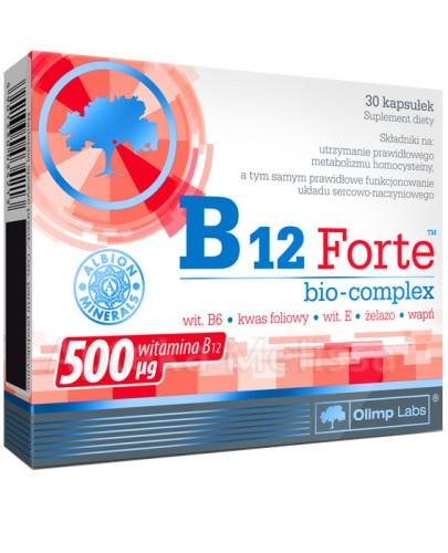 OLIMP B12 FORTE BIO-COMPLEX - 30 kaps. - Drogeria Melissa