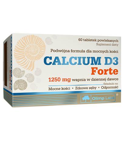 OLIMP CALCIUM D3 FORTE - 60 tabl. - Apteka internetowa Melissa