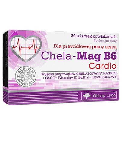 OLIMP CHELA MAG B6 CARDIO - 30 tabl.  - Drogeria Melissa