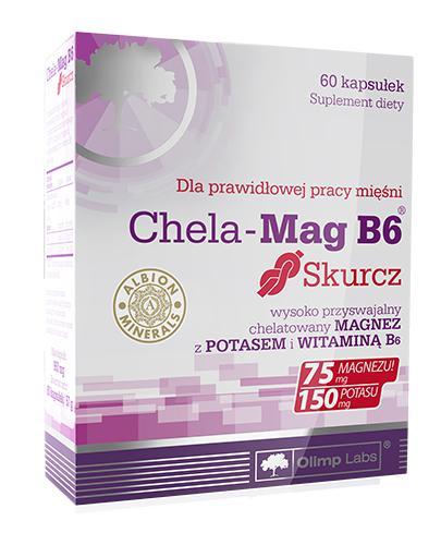 OLIMP CHELA MAG B6 Skurcz -  60 kaps. - Drogeria Melissa