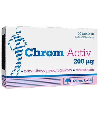 OLIMP CHROM ACTIV - 60 tabl. - Drogeria Melissa