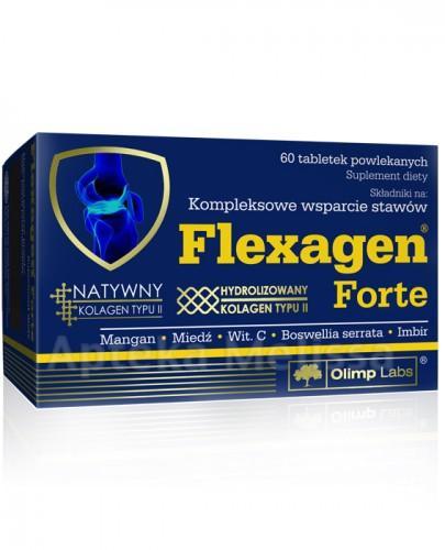 OLIMP FLEXAGEN FORTE Kompleksowe wsparcie stawów - 60 tabl. - Apteka internetowa Melissa