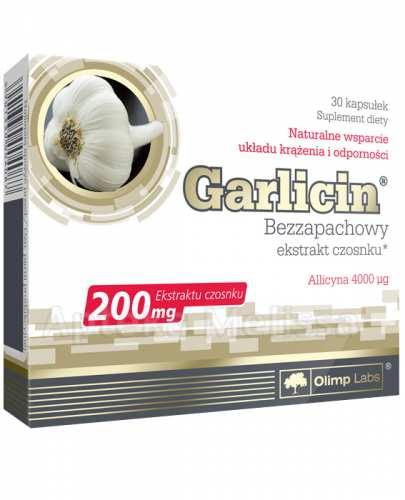 OLIMP GARLICIN Bezzapachowy ekstrakt z czosnku - 30 kaps. - Drogeria Melissa