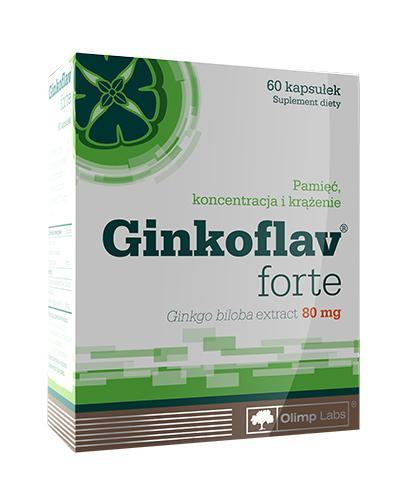 OLIMP GINKOFLAV FORTE - 60 kaps. - Apteka internetowa Melissa