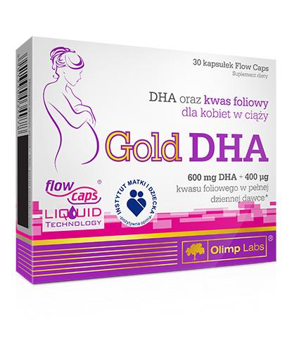 OLIMP GOLD DHA - 30 kaps.  - Apteka internetowa Melissa