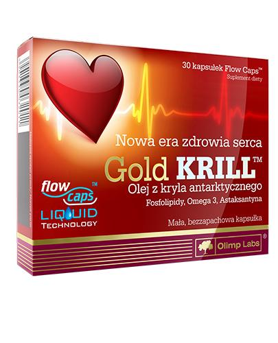 OLIMP GOLD KRILL - 30 kaps. - Apteka internetowa Melissa