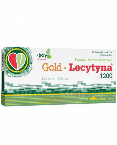 Olimp Gold Lecytyna 1200 - Apteka internetowa Melissa