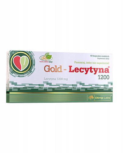 OLIMP GOLD LECYTYNA 1200  - 60 kaps. - Drogeria Melissa