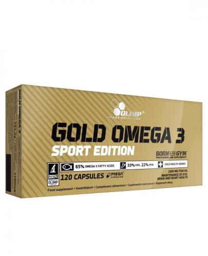 OLIMP GOLD OMEGA 3 1000 mg SPORT EDITION - 120 kaps.