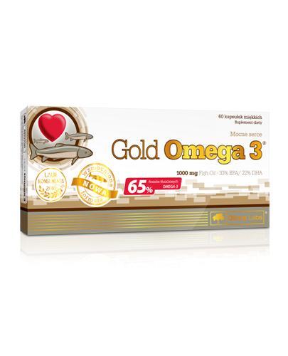OLIMP GOLD OMEGA 3 1000 mg - 60 kaps. Wsparcie odporności. - Drogeria Melissa