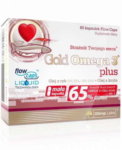 OLIMP GOLD OMEGA 3 PLUS - 60 kaps.  - Drogeria Melissa