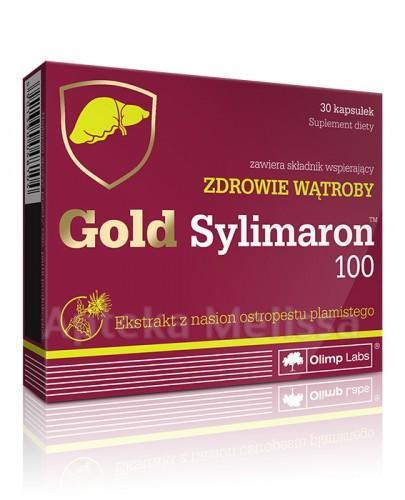 OLIMP GOLD SYLIMARON 100 - 30 kaps. - Apteka internetowa Melissa