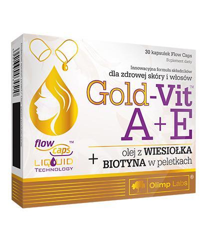 OLIMP GOLD-VIT A+E - 30 kaps. - Drogeria Melissa