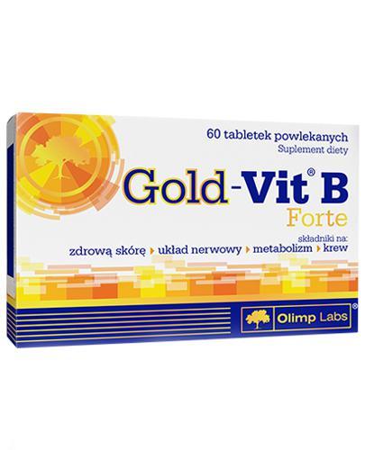 OLIMP GOLD-VIT B FORTE - 60 tabl. - Apteka internetowa Melissa