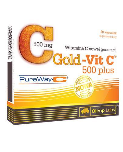 OLIMP GOLD-VIT C 500 PLUS - 30 kaps. - Drogeria Melissa