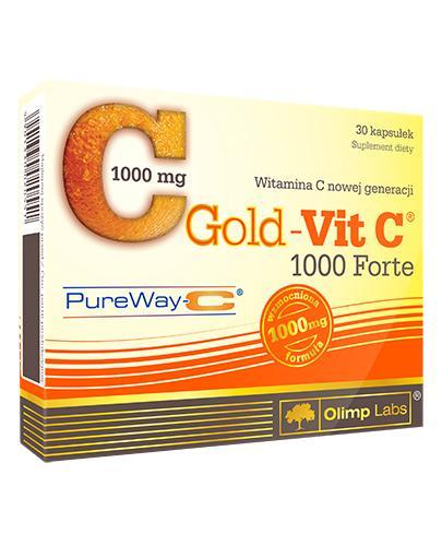 OLIMP GOLD-VIT C FORTE 1000 - 30 kaps. - Apteka internetowa Melissa