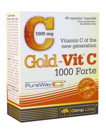 OLIMP GOLD-VIT C FORTE 1000 - 60 kaps.