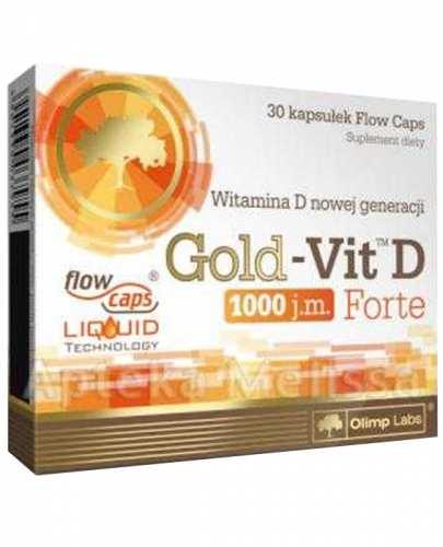 OLIMP GOLD-VIT D FORTE 1000 IU - 30 kaps. - Apteka internetowa Melissa