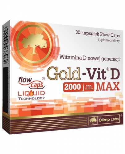 OLIMP GOLD-VIT D MAX 2000 IU - 30 kaps. - Apteka internetowa Melissa