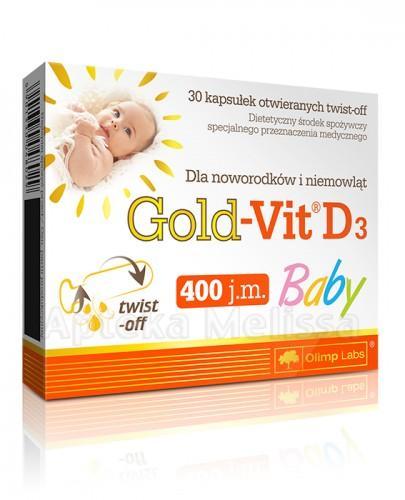 OLIMP GOLD-VIT D3 BABY - 60 tabl. - Apteka internetowa Melissa