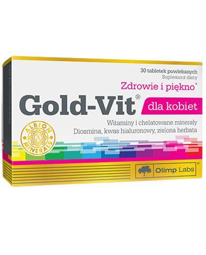OLIMP GOLD-VIT DLA KOBIET - 30 tabl. - Apteka internetowa Melissa