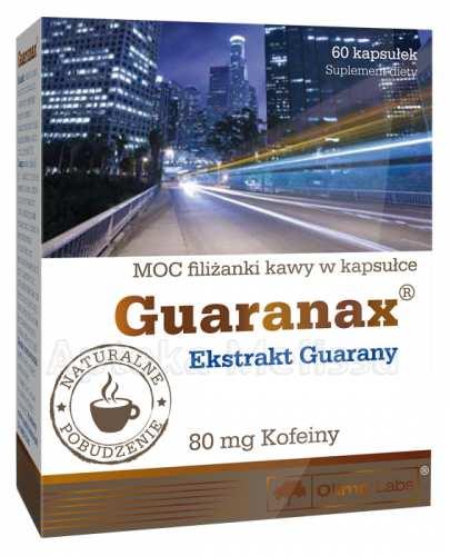 OLIMP GUARANAX - 60 kaps. - Drogeria Melissa