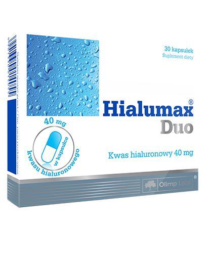 OLIMP HIALUMAX DUO Kwasu hialuronowego 40 mg - 30 kaps. - Drogeria Melissa