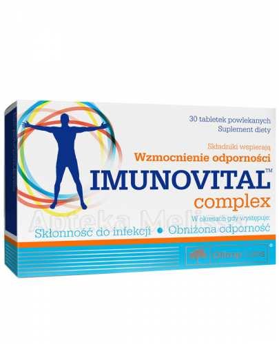 OLIMP IMUNOVITAL COMPLEX - 30 tabl. - Apteka internetowa Melissa