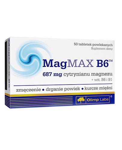 OLIMP MAGMAX B6 - 50 tabl. - Drogeria Melissa