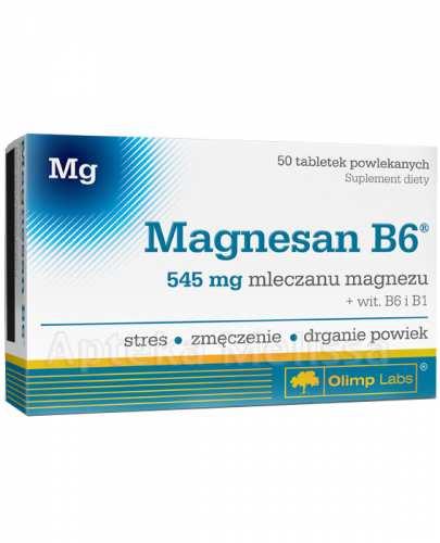 OLIMP MAGNESAN B6 - 50 tabl.  - Apteka internetowa Melissa