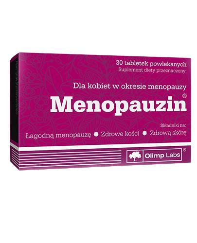 OLIMP MENOPAUZIN - 30 tabl. - Drogeria Melissa