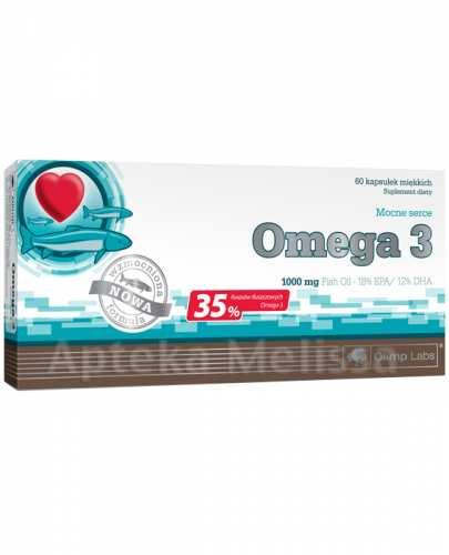 OLIMP OMEGA 3 1000 mg - 60 kaps. - Apteka internetowa Melissa