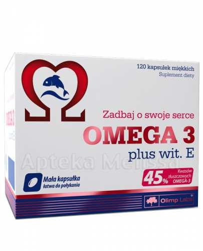 OLIMP OMEGA 3 + Witamina E 500 mg - 120 kaps.  - Apteka internetowa Melissa