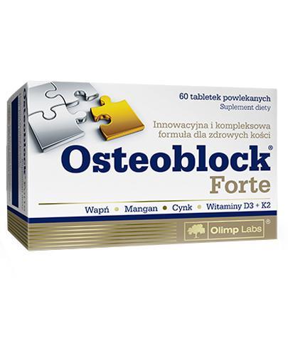 OLIMP OSTEOBLOCK FORTE - 60 tabl. - Apteka internetowa Melissa