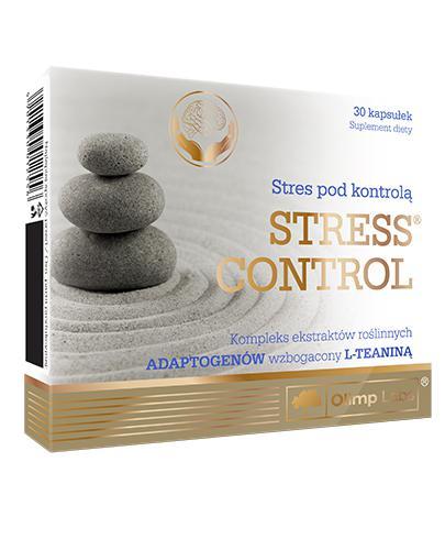 OLIMP STRESS CONTROL - 30 kaps. - cena, opinie, stosowanie - Drogeria Melissa