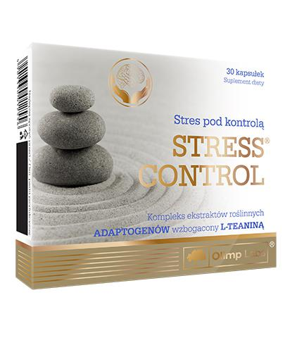 OLIMP STRESS CONTROL - 30 kaps. - cena, opinie, stosowanie - Apteka internetowa Melissa