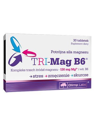 OLIMP TRI-MAG B6 - 30 tabl. - Apteka internetowa Melissa