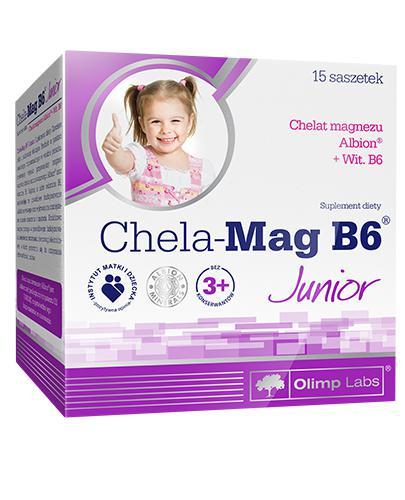 OLIMPEK CHELA MAG B6 JUNIOR - 15 sasz. - Drogeria Melissa