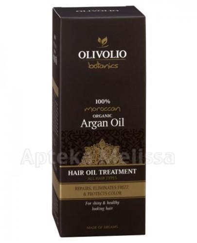 OLIVOLIO ARGAN OIL Arganowy olej leczniczy do każdego rodzaju włosów z filtrami UV - 90 ml - Apteka internetowa Melissa
