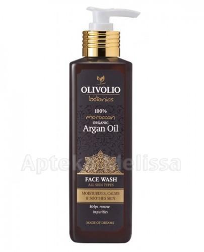 OLIVOLIO Żel do zmywania twarzy z organicznym olejem arganowym - 250 ml - Apteka internetowa Melissa