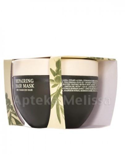 OLIVOLIO Maska do włosów suchych i zniszczonych odbudowująca z bio oliwą z oliwek - 250 ml  - Apteka internetowa Melissa