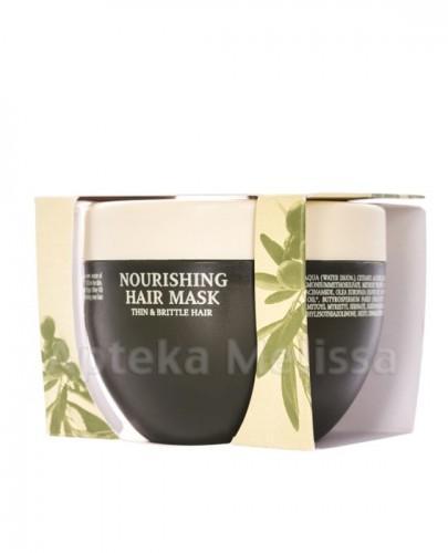 OLIVOLIO Maska do włosów cienkiech i kruchych z oliwą z oliwek i ceramidami - 250 ml  - Apteka internetowa Melissa