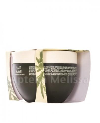 OLIVOLIO Maska do włosów farbowanych z organiczną oliwą z oliwek i witaminami - 250 ml  - Apteka internetowa Melissa