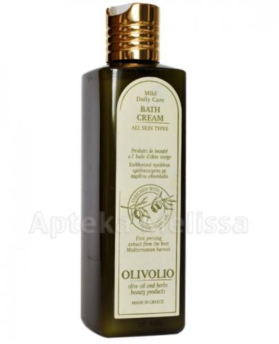 OLIVOLIO BATH CREAM Mleczko do kąpieli z oliwą oliwek extra virgin - 250 ml - Apteka internetowa Melissa