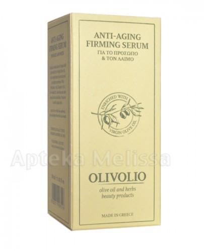 OLIVOLIO Serum przeciwzmarszczkowe do twarzy i szyi z kwasem hialuronowym - 30 ml  - Apteka internetowa Melissa