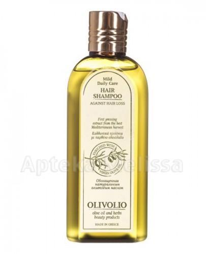 OLIVOLIO Szampon przeciw wypadaniu włosów z organiczną oliwą z oliwek - 200 ml  - Apteka internetowa Melissa