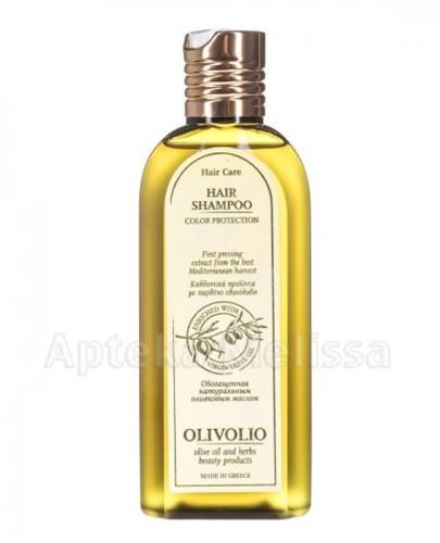 OLIVOLIO Szampon do włosów farbowanych z proteinami z oliwą z oliwek - 200 ml  - Apteka internetowa Melissa