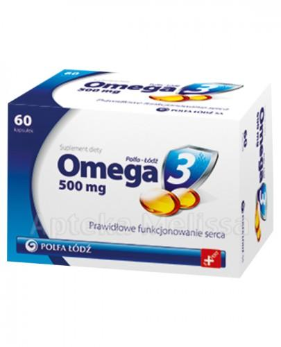 OMEGA 3 500 mg - 60 tabl. - Apteka internetowa Melissa